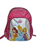 Simba Princess Dark Glow Backpack, Multi Color (14-inch)