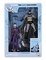 BATMAN The LONG HALLOWEEN Collector Figure Set with Comic TP & JOKER Figure