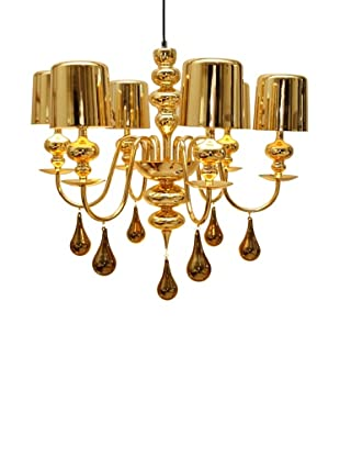 Arttex Lighting Vienne Pendant Light, Gold, Small