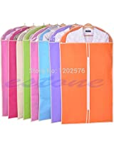 1PC Home Dress Clothes Garment Suit Cover Case Dustproof Storage Bags Protector( Randomly: Shiping) (S)