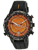 Timex Intelligent Quartz Analog Orange Dial Mens Watch-T49706