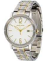 Pierre Cardin Analog White Dial Men's Watch - PC105451F05