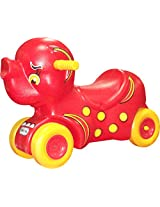 Playgro Jumbo Pull N Scoot, Red/Yellow