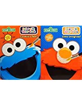 Sesame Street Paint With Water Book Set Cookies Year And Elmo Imagines With Non Toxic Tear Out Pages