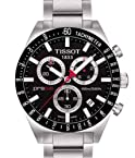 Tissot PRS 516 Black Chronograph Watch