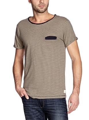Cottonfield T-Shirt (Blau/Beige)
