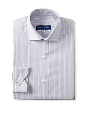 Alton Lane Men's Reverse Stripe Dress Shirt (Lavender/Blue)