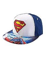 DC Comics Superman Sublimated Logo Snapback Baseball Cap