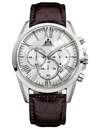 Rothenschild Chronograph Kalbsleder/Braun/Silber