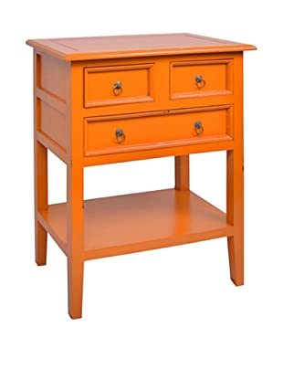 Jeffan Newton 3-Drawer Side Table