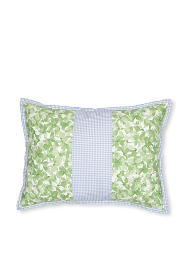 Tommy Hilfiger Hydrangea Petals Pillow, Green, 14