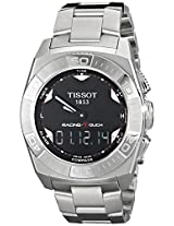 Tissot Men's TIST0025201105100 Racing Touch Silver-Tone Stainless Steel Watch