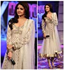 Anushka Sharma Net With Pure Viscose Inner Bollywood Style Anarkali Suit - Df1
