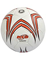KKS Brilliante Youth's Football 5# (White & Red)
