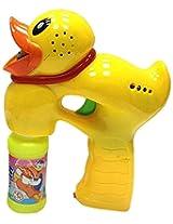 WeGlow International Duck Light Up Bubble Gun