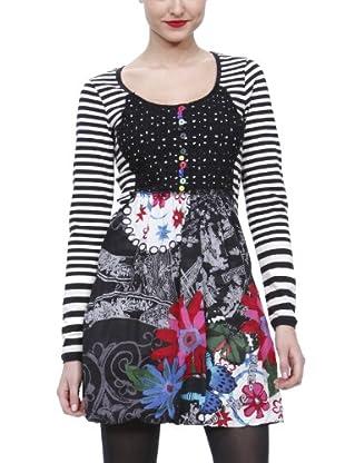 Desigual Vestido corto, 28V2877 (Negro)
