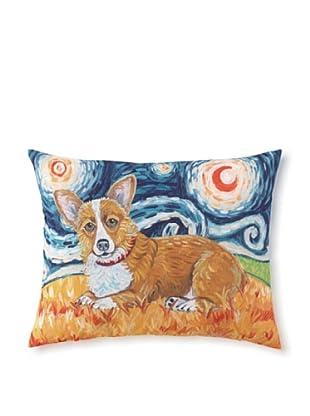 Van Growl Corgi Pillow