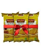 Baker Street Suji Bread Toast Rusk 200 Gms
