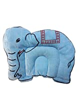 Wonderkids Baby Mustard(Rai) Pillow Elephant Shape Blue