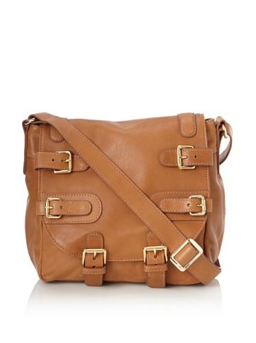 CC Skye Women's Courtney Taylor Buckle Saddle Bag (Brown)