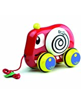 Vilac Pull Along Toy, Fire Truck