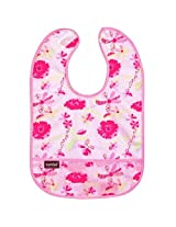 Taffeta Waterproof Bib | To the Fresh Pink Size , Infant