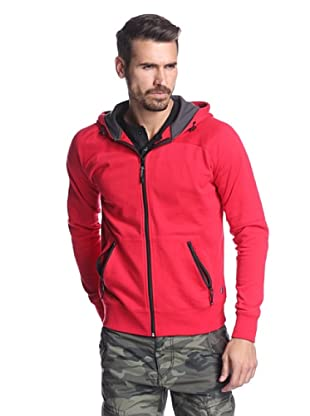 Union Jeans Men's Spirit and Soul Hoodie (Red)