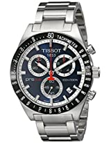 Tissot Men's T0444172104100 PRS516 Blue Chronograph Dial Watch