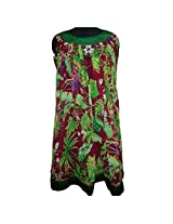 Reednpick Ladies Kurti Floral Green