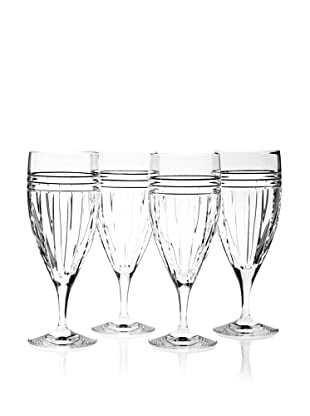 Reed & Barton Set of 4 Tempo Iced Beverage Glasses