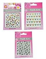 3D Nail Art Stickers By Via Mazzini (Set Of 3) - NLS0134
