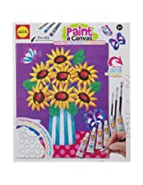 ALEX Toys Artist Studio Paint A Canvas Flower Vase Art Kit