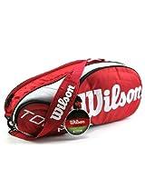 Wilson Sporting Goods Tour Tennis Racquet Bag (Multicolour)