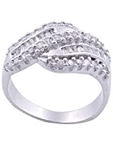 BJ JEWELS R65 92.5% Sterling Silver Ring For Women