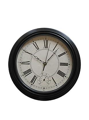 Reloj Aro Plata / Negro