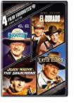 4 Film Favorites: John Wayne (The Searchers, The Shootist, El Dorado, The Sons of Katie Elder)