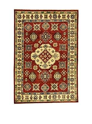 L'Eden del Tappeto Alfombra Uzebekistan Rojo / Crema 250t x t173 cm