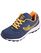 Asian Men's Bullet-18 Range Of Multi-Coloured Running Shoes(B18s9cNBLY) - 9 UK