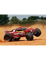 Traxxas 37076-3 Rustler VXL RTR Vehicle, ( Assorted Colors)