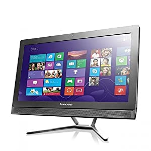 Lenovo C360 57327256 19.5-inch All-in-one Desktop (Core i3_4150T/2GB/500GB/DOS/Integrated Graphics), Black