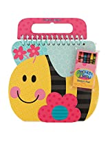 Stephen Joseph Shaped Sketch Pad-Bee