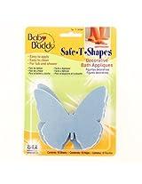 Baby Buddy BB Safe-T-Shapes Bath Tub Appliques, Butterflies