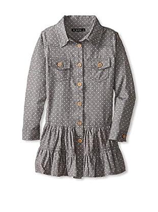 Gil & Jas Kid's Polka Dot Shirt Dress