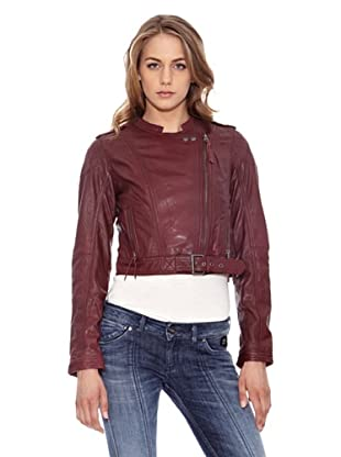 Pepe Jeans London Lederjacke Heidy (Bordeaux)