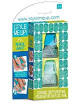 Style Me Up Fx Nail Art Green