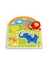 Hape - At The Zoo Knob Puzzle