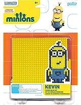 Perler Beads 80-62982 Minions Perler Kevin Activity Kit, Yellow