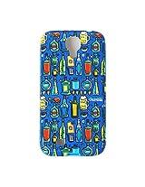 Chumbak Daaru Case for Samsung Galaxy S4 (Multicolor)