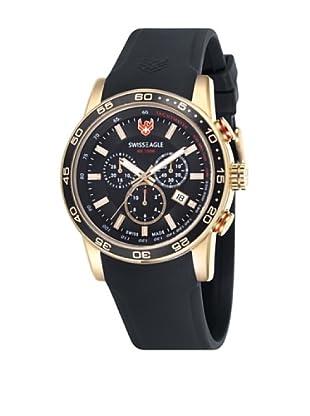 Swiss Eagle Reloj Field Negro