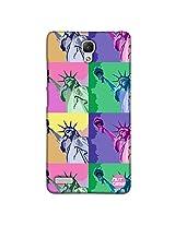 Designer xiaomi Note 4G Case Cover Nutcase - Liberty Calling